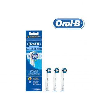 Recargas para Escovas de Dentes Elétricas Oral-B Precision Clean