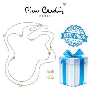 Conjunto Pierre Cardin® PXN6422 | Colar + 2 Pares de Brincos