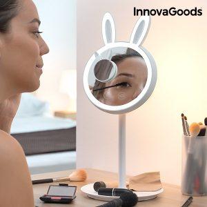 Espelho LED Para Maquillagem 2 em 1 Mirrobbit Wellness Beauté!