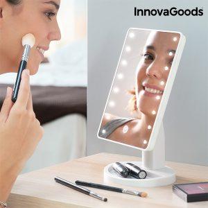 Espelho LED Tátil de Secretária Wellness Beauté!