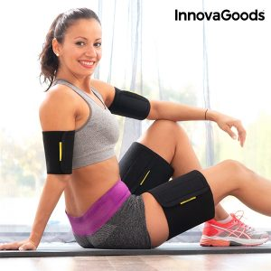 InnovaGoods Sport Fitness sauna-effect arm & thigh wraps (pack of 4)