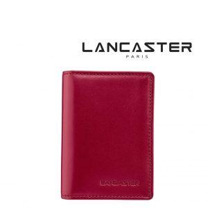 Porta Cartões Pele Lancaster Paris® Vermelho PLP0010