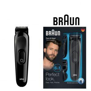 Máquina de Barbear Braun MGK3020