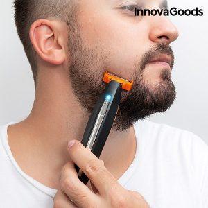 Máquina de Barbear Recarregável de Precisão 3 em 1 Wellness Beauté