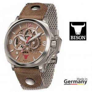 Relógio Bison®Made in  Germany BI0003BRMB