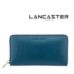 Carteira Pele Lancaster Paris® Azul | PLP005