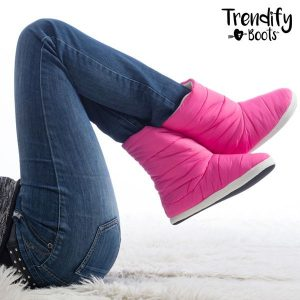 Pantufas Tipo Bota Trendify Boots | 6 Tamanhos