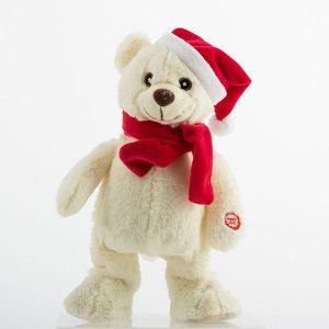 Boneco de Natal que Canta e Dança
