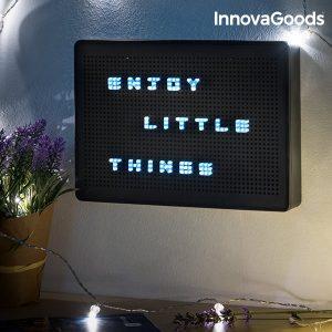 Quadro Perfurado Para Inserir Letras LED Gadget Tech