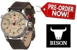 PRÉ VENDA Desconto Extra Relógios Bison ® Germany