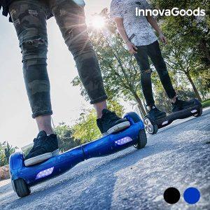 Trotineta Elétrica Hoverboard Gadget | Disponível na Cor Azul e Preto!