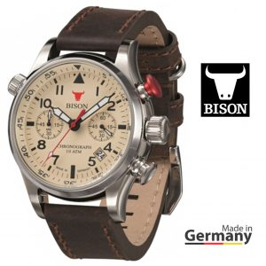 Relógio Bison®Made in Germany BI0007CR