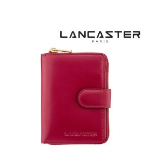 Carteira Pele Lancaster Paris® Vermelho | PLP003