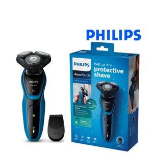Barbeador elétrico Philips S5250/06 Wet&Dry Preto
