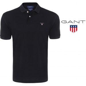 Gant® Polo Classic Regular Fit Black | Tamanho L