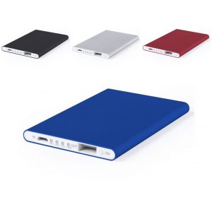 Power Bank Extrafino com Micro USB 2200 mAh LED | Disponível em 4 Cores!