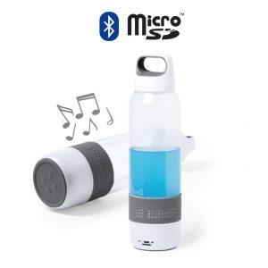Garrafa com Coluna Integrada | Bluetooth | Micro SD | 500 ml