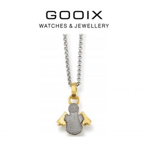Colar Gooix®Prata- Dourado 917-02810 | 42cm