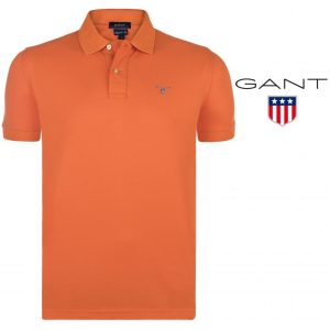 Gant® Polo Classic Regular Fit Orange | Tamanho M