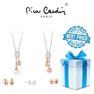 Conjunto Pierre Cardin® PXX6867 | 2 Colares e 6 Brincos
