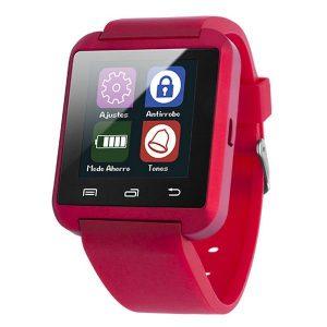 Smartwatch Mãos livres | Bluetooth | Função Anti-Roubo | Vermelho