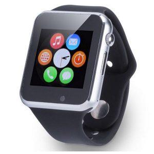 Smartwatch Com Cartão Sim | Bluetooth | Compatível Com IOS e Android | Preto / Cinza