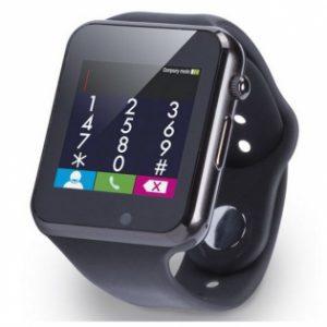 Smartwatch Com Cartão Sim | Bluetooth | Compatível Com IOS e Android | Preto