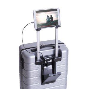 Mala com Carregador USB e Suporte para Tablet