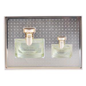 Conjunto de Perfume Mulher Splendida Iris Bvlgari (2 pcs)