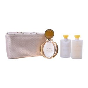 Conjunto de Perfume Mulher Goldea Bvlgari (4 pcs)