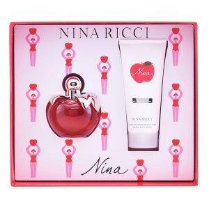 Conjunto de Perfume Mulher Nina Ricci (2 pcs)