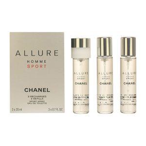 Conjunto de Perfume Homem Allure Homme Sport Chanel EDT