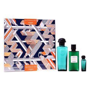 Conjunto de Perfume Mulher Eau D'orange Verte Hermes (3 pcs)