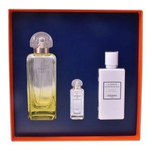 Conjunto de Perfume Unissexo Le Jardin De Monsieur Hermes (3 pcs)