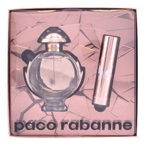 Conjunto de Perfume Mulher Olympéa Aqua Paco Rabanne (2 pcs)