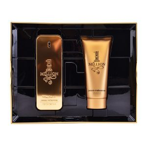 Conjunto de Perfume Homem 1 Million Paco Rabanne (2 pcs)