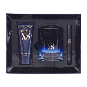 Conjunto de Perfume Homem Pure Xs Paco Rabanne (3 pcs)