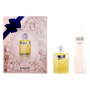 Conjunto de Perfume Mulher Eau De Rochas Rochas (2 pcs)
