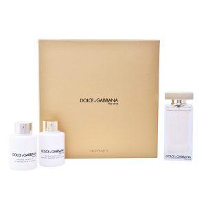 Conjunto de Perfume Mulher The One Dolce & Gabbana EDT (3 pcs)