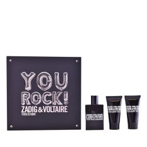 Conjunto de Perfume Homem This Is Him! You Rock! Zadig & Voltaire (3 pcs)