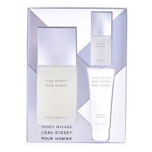 Conjunto de Perfume Homem L' Eau D'issey Issey Miyake (3 pcs)