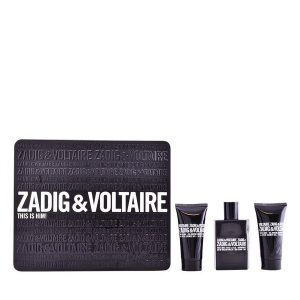 Conjunto de Perfume Homem This Is Him! Zadig & Voltaire (3 pcs) Preto
