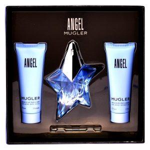 Women's Perfume Set Angel Star Thierry Mugler (3 pcs)