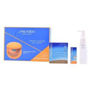 Conjunto de Proteção Solar Global Shiseido (3 pcs)
