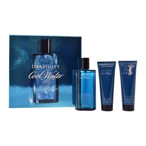 Conjunto de Perfume Homem Cool Water Davidoff (3 pcs)