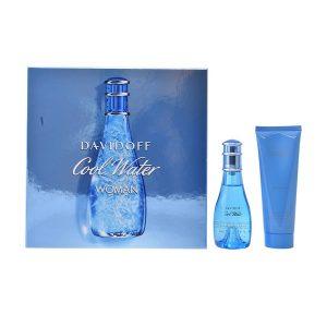 Conjunto de Perfume Mulher Cool Water Woman Davidoff (2 pcs)