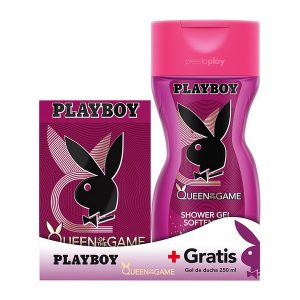 Conjunto de Perfume Mulher Queen Of The Game Playboy (2 pcs)