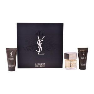 Conjunto de Perfume Homem Ysl L'homme Yves Saint Laurent (3 pcs)