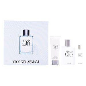 Conjunto de Perfume Homem Acqua Di Gio Armani (3 pcs)