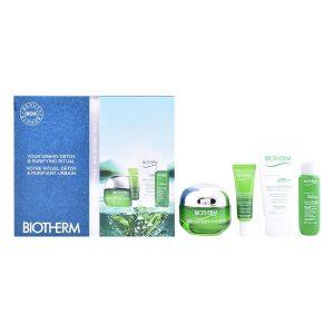 Conjunto de Cosmética Mulher Skin Oxygen Biotherm (4 pcs)